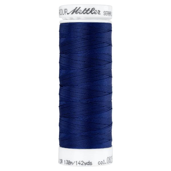 Amann Mettler Seraflex 130m Elastikgarn Nr.0825(dunkelblau)