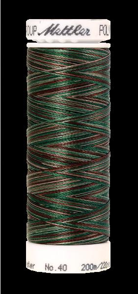 Stickgarn 200 Meter, Farbe:9982, Amann Poly Sheen Multi