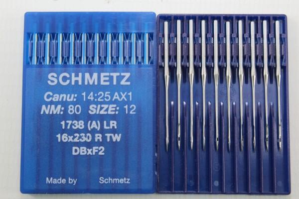 Rundkolbennadeln Stärke 80 System 1738 (A) LR / 16x230 R TW / DBxF2