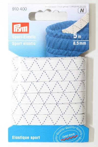 Gummi - Sport - Elastic 5 Meter / 8,5 mm
