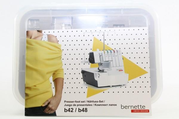 Bernette Nähfuss-Set für b42/b48 8-teilig