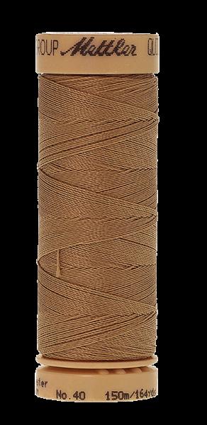 Nähgarn 150 Meter, Farbe:0830, Mettler Quilting, Baumwolle/Polyester, 2fach gewachst 10er Pack