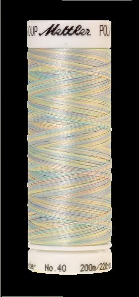 Stickgarn 200 Meter, Farbe:9980, Amann Poly Sheen Multi