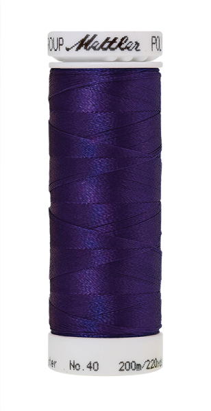 Stickgarn 200 Meter, Farbe:3110, Amann Poly Sheen