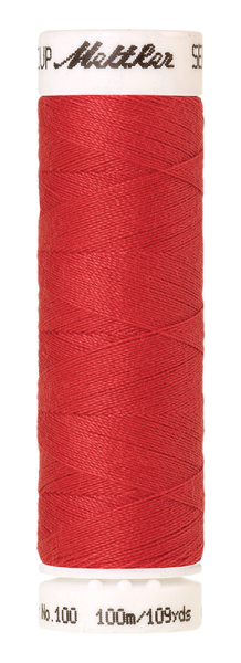 Nähgarn 100 Meter, Farbe:0104, Amann Seralon, Polyester