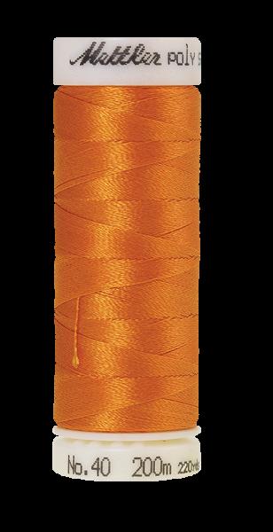 Stickgarn 200 Meter, Farbe:0904, Amann Poly Sheen