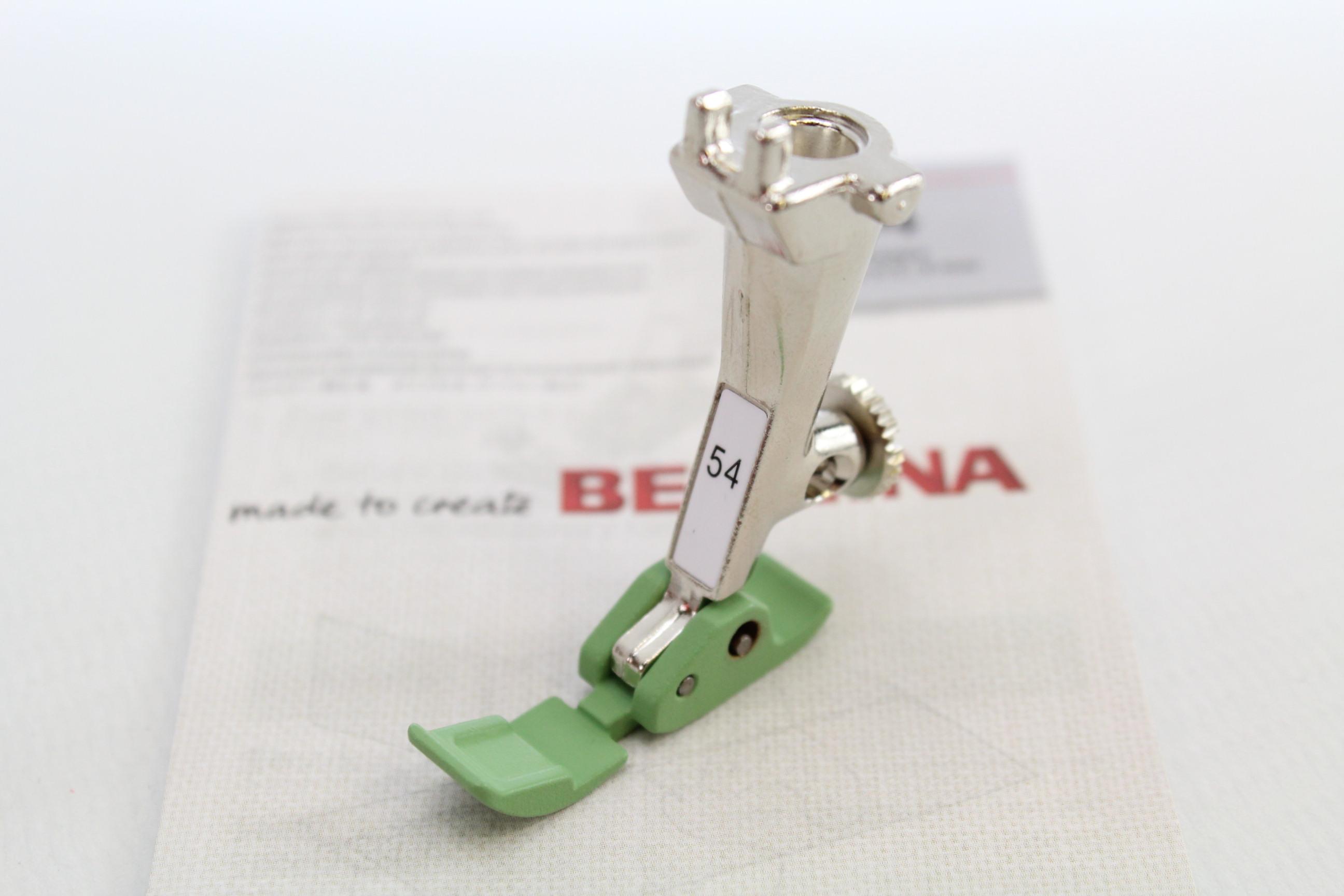Geradstichfuss mit Gleitsohle Nr.53 für Alte Modelle Original BERNINA