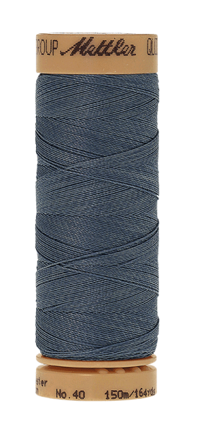 Nähgarn 150 Meter, Farbe:0881, Mettler Quilting, Baumwolle/Polyester, 2fach gewachst