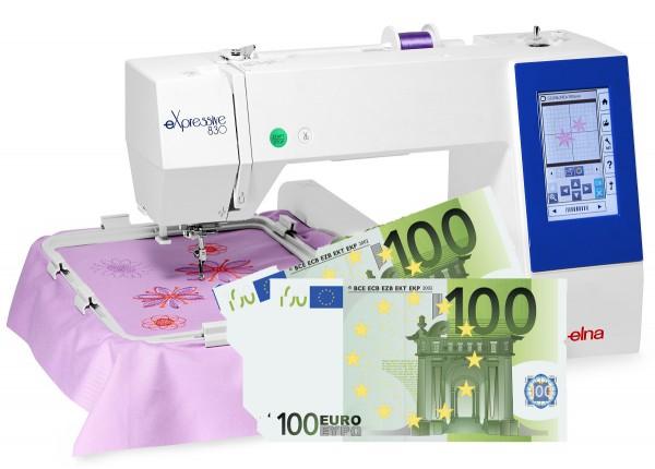 Elna eXpressive 830 - Eintauschpreis