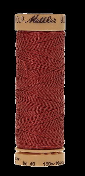 Nähgarn 150 Meter, Farbe:0534, Mettler Quilting, Baumwolle/Polyester, 2fach gewachst 10er Pack