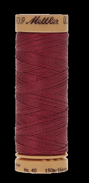 Nähgarn 150 Meter, Farbe:0601, Mettler Quilting, Baumwolle/Polyester, 2fach gewachst 10er Pack
