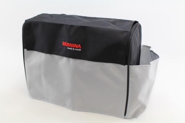 Original Bernina Staubschutzhaube (grau/schwarz) für die 4er Serie