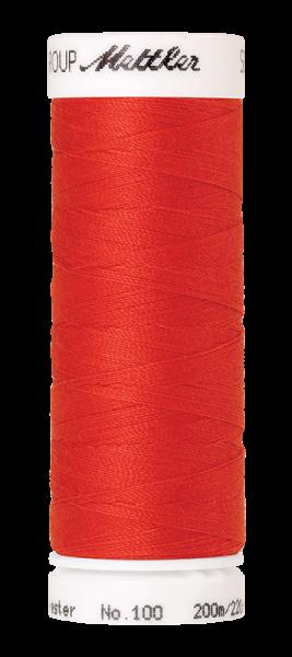 Nähgarn 200 Meter, Farbe:1458, Amann Seralon, Polyester