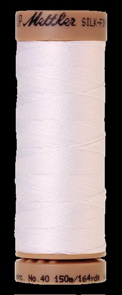 Nähgarn 150 Meter, Farbe:2000, Mettler Quilting, SILK-FINISH COTTON 40
