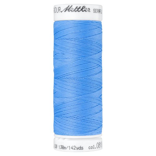 Amann Mettler Seraflex 130m Elastikgarn Nr.0818(blau)
