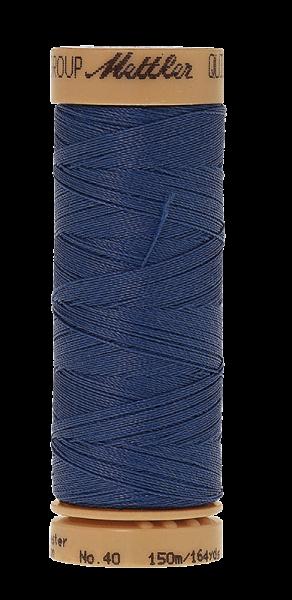 Nähgarn 150 Meter, Farbe:0790, Mettler Quilting, Baumwolle/Polyester, 2fach gewachst 10er Pack