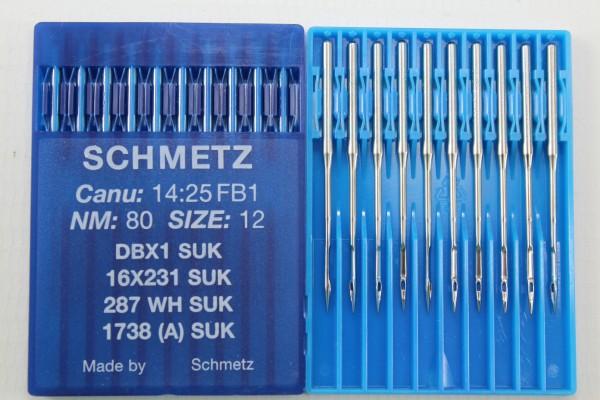 Rundkolbennadeln Stärke 80 System DBx1 SUK / 16x231 SUK / 287 WH SUK / 1738 (A) SUK