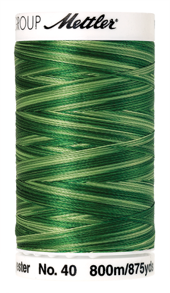 Stickgarn 800 Meter, Farbe:9932, Amann Poly Sheen Multi
