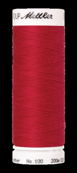 Nähgarn 200 Meter, Farbe:0102, Amann Seralon, Polyester