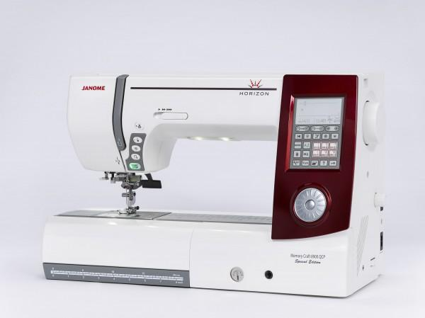 Janome Horizon Memory Craft 8900 QCP Special Edition (Rot)