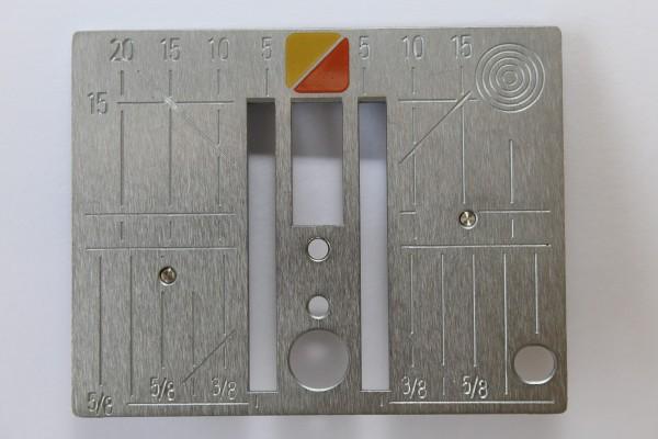 Original Bernina CutWork- / Gerad- / Punch- Stichplatte B1 (210-380) B4 B5