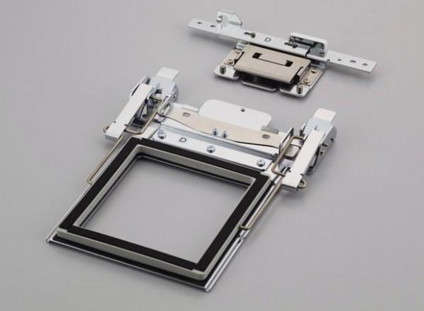 brother Klemm-Rahmen 100 x 100 mm(Doppelseitiger Klemmrahmen mit Halterung D)