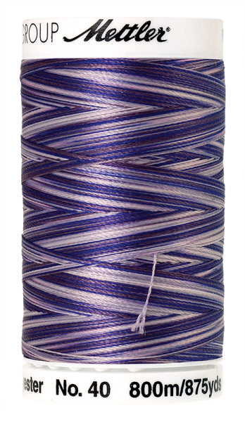 Stickgarn 800 Meter, Farbe:9921, Amann Poly Sheen Multi