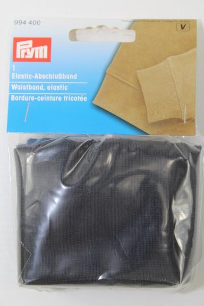 1 Elastic Abschlussbund schwarz