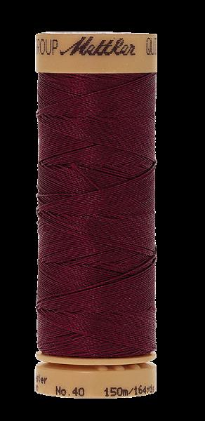 Nähgarn 150 Meter, Farbe:0738, Mettler Quilting, Baumwolle/Polyester, 2fach gewachst 10er Pack