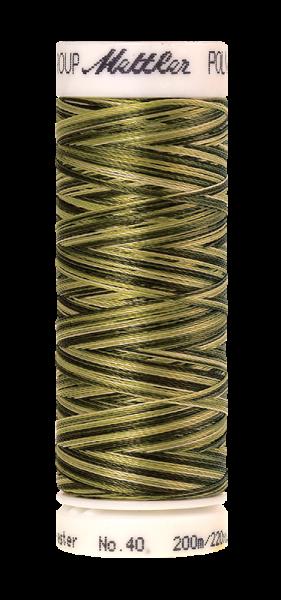 Stickgarn 200 Meter, Farbe:9976, Amann Poly Sheen Multi