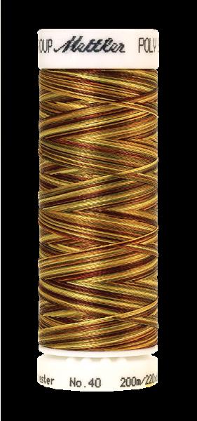 Stickgarn 200 Meter, Farbe:9975, Amann Poly Sheen Multi