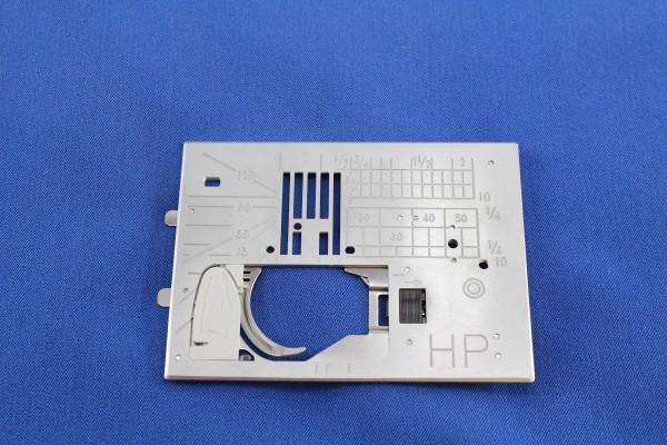 ELNA / JANOME Profigeradstich-Stichplatte HP