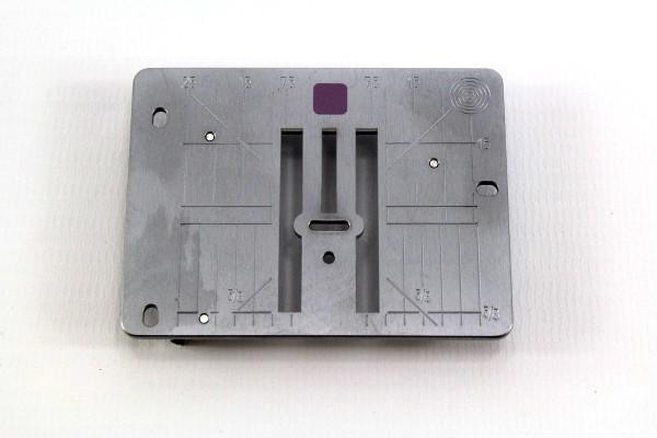 Original Bernina 9mm Stichplatte mit 5,5mm Stichloch (A2 1630 mm)