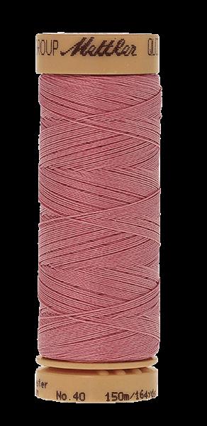 Nähgarn 150 Meter, Farbe:0803, Mettler Quilting, Baumwolle/Polyester, 2fach gewachst 10er Pack
