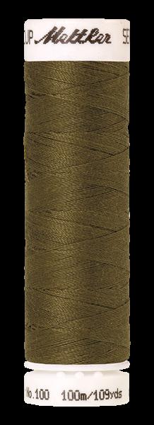 Nähgarn 100 Meter, Farbe:0666, Amann Seralon, Polyester