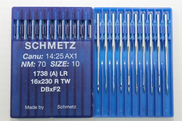Rundkolbennadeln Stärke 70 System 1738 (A) LR / 16x230 R TW / DBxF2