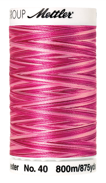 Stickgarn 800 Meter, Farbe:9923, Amann Poly Sheen Multi