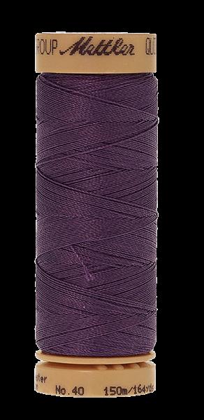 Nähgarn 150 Meter, Farbe:0673, Mettler Quilting, Baumwolle/Polyester, 2fach gewachst 10er Pack