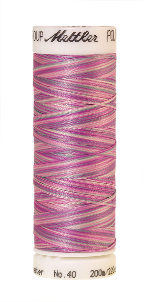Stickgarn 200 Meter, Farbe:9912, Amann Poly Sheen Multi