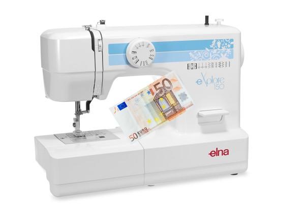 Elna eXplore 150 - Eintauschpreis