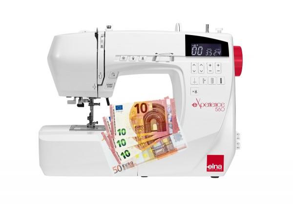 Nähmaschine Elna eXperience 560- Eintauschpreis