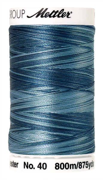 Stickgarn 800 Meter, Farbe:9928, Amann Poly Sheen Multi