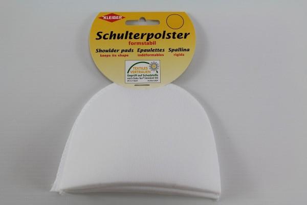 Schulterpolster, Halbmond weiss
