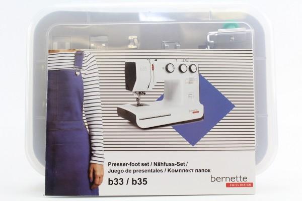 Bernette Nähfuss-Set für B33/B35 10-teilig