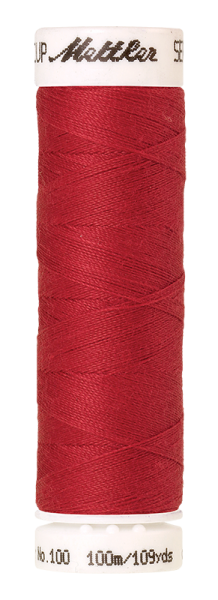 Nähgarn 100 Meter, Farbe:0102, Amann Seralon, Polyester