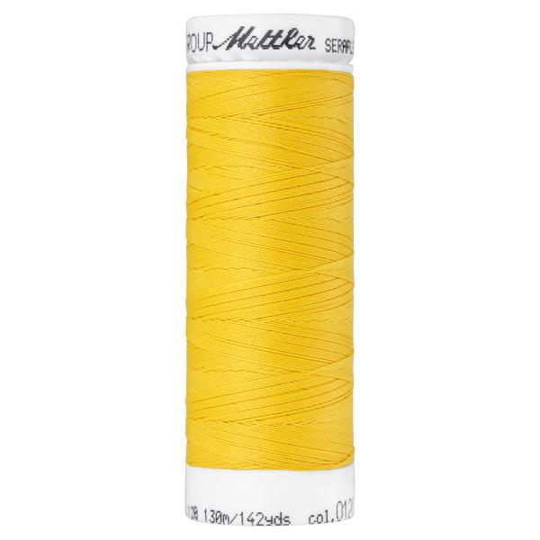Amann Mettler Seraflex 130m Elastikgarn Nr.0120(gelb)