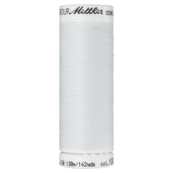 Amann Mettler Seraflex 130m Elastikgarn Nr.1000 (rohweiss)
