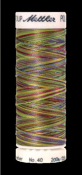 Stickgarn 200 Meter, Farbe:9977, Amann Poly Sheen Multi