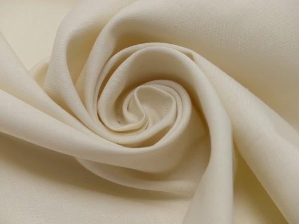 Fahnentuch 100% Baumwolle 140 cm x 100 cm rohweiß 140g/m²