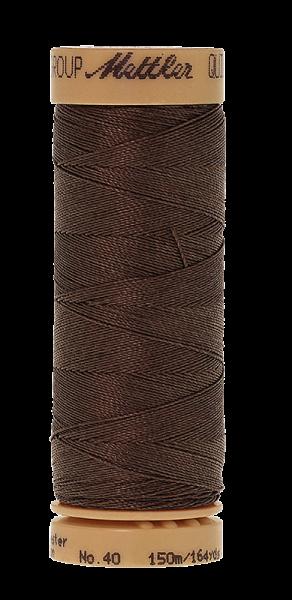 Nähgarn 150 Meter, Farbe:0712, Mettler Quilting, Baumwolle/Polyester, 2fach gewachst 10er Pack